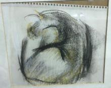 "CAROLINE WATERLOW ""An old gumbie cat"" ch"