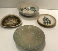 Three Marianne De Trey dishes/bowls, eac