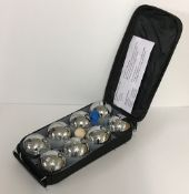 A Redwood Leisure 8 piece steel boules s