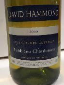 Eight bottles David Hammond Trebiano Chardonnay South Eastern Australia 2000