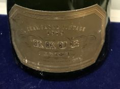 One bottle Krug Vintage Champagne 1979