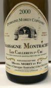 Eight bottles Chassagne Montrachet les Caillerets 1er Cru,