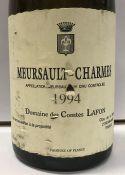 Two bottles Meursault Charmes 1er Cru,