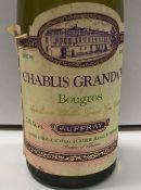 Twenty-six half bottles (375 ml) Chablis Grand Cru Bougrous,