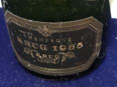 One bottle Krug Champagne 1985