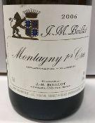 Three bottles Montagny 1er Cru,