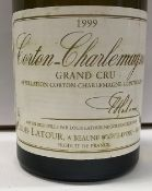 Nine bottles Corton Charlemagne Grand Cru,