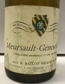 Twenty-two bottles Meursault-Genevrières Appellation Meursault 1er Cru,