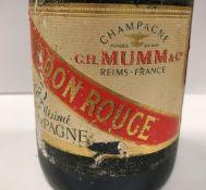 One bottle G H Mumm & Co.