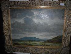 "FRANK E BERESFORD ""Welsh landscape with"