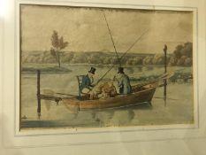 """AFTER HENRY ALKEN """"Three men in a boat f"""