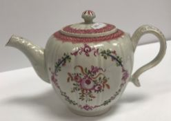 An 18th Century Pearlware squash shaped