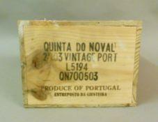 Quinta do Noval 2003 Vintage Port, 6 bottles, OWC