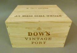 Dow's 2007 Vintage Port, 6 bottles, OWC