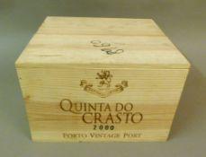 Quinta Do Crasto 2000 Vintage Port, 6 bottles OWC