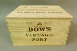 Dow's 2003 Vintage Port , 6 bottles, OWC