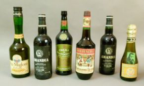 Mixed - Amandia Vin de Liquer, C.A.I.R, Rhodes-Grece, 2 bottles, Old Reserve Achaia Clauss, 1