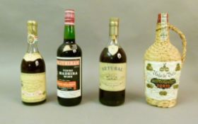 Niepoort Vinho do Porto, 1 bottle (rafia cased), D'Oliveiras Vinho Madeira wine, Golden Malmsey, 1