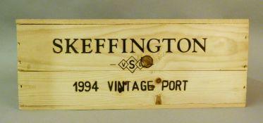 Skeffington 1994 Vintage Port, 6 bottles, OWC