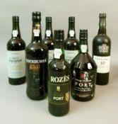 Quinta do Infanto LBV 2011 port, 3 bottles, labels good, levels low neck; Taylor's 10 yr old Tawny