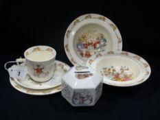 A Quantity Of Royal Doulton Bunnykins Nursery Ware