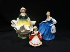 Three Royal Doulton China Figures