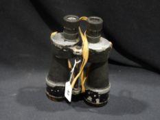 A Pair Of Military Issue Ross 2nd World War Binoculars
