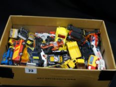A Box Of Matchbox, Corgi & Other Model Cars