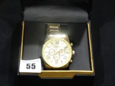 A Boxed Gentleman`s Akribos Wrist Watch