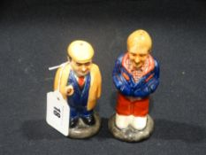 """A Pair Of Collectable """"Only Fools & Horses"""" Cruets"""