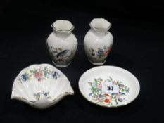 Four Pieces Of Aynsley Pembroke Pattern China
