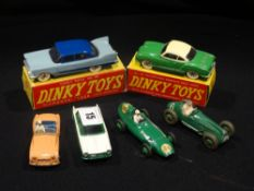 Two Boxed Dinky Toy Motor Cars & Four Others
