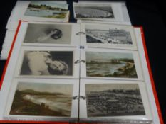Two Albums Of Local View Postcards