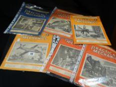 A Bundle Of Vintage Practical Mechanics Magazines