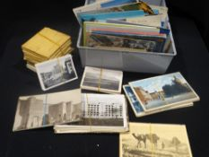 A Quantity Of Mixed Vintage Postcards Etc