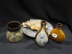A Small Group Of Studio Pottery