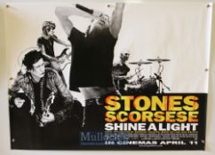 Original Movie/Film Poster Selection including Rolling Stones Shine A Light 2008 measures 40x30inch