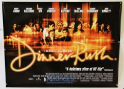 Original Movie/Film Poster Selection includes National Lampoons Class Reunion, Dinner Rush, Duets,