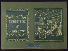 """Early Furniture & Clocks Etc Catalogue """"S. Lesser & Sons - 24- 26, Houndsditch, London"""" Circa 1880 –"""