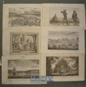 Selection of Various Prints taken from Middletons Complete System of Geography to include 'A Chinese