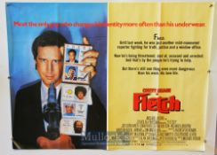 Original Movie/Film Poster Selection includes Young Doctors In Love, Into The Night, Fletch, and