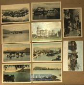 India - Collection of 22x postcards of Udaipur India - Monuments & Hindu temples inc Jagannath,