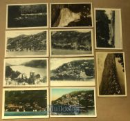 Collection of 17x postcards of Nainital, India - Topographical views, temples monuments & tombs plus
