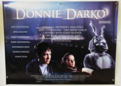 Original Movie/Film Poster Donnie Darko 2001 UK Quad measures 40x30 inch with Jake Gyllenhaal,
