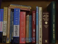 Selection of Various Antique Reference Books to include A Dictionary of Artists 1760-1893, Pottery &