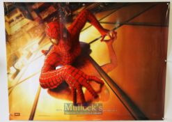 Original Movie/Film Poster Spiderman 2002 teaser double sided, measures 40x30inch