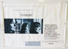 Original Movie/Film Poster Selection including Sophie's Choice, Interiors, Christiane F. and