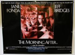 Original Movie/Film Poster Selection including The Morning After, The Emerald Forest, Gallipoli, and