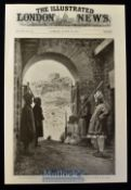 India - 1897 The Indian Frontier Rising: At the gate of Ali Musjid, the fort at the entrance of