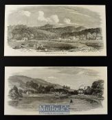 New Zealand - Six original woodblocks from the Illustrated London News^ Auckland from the New